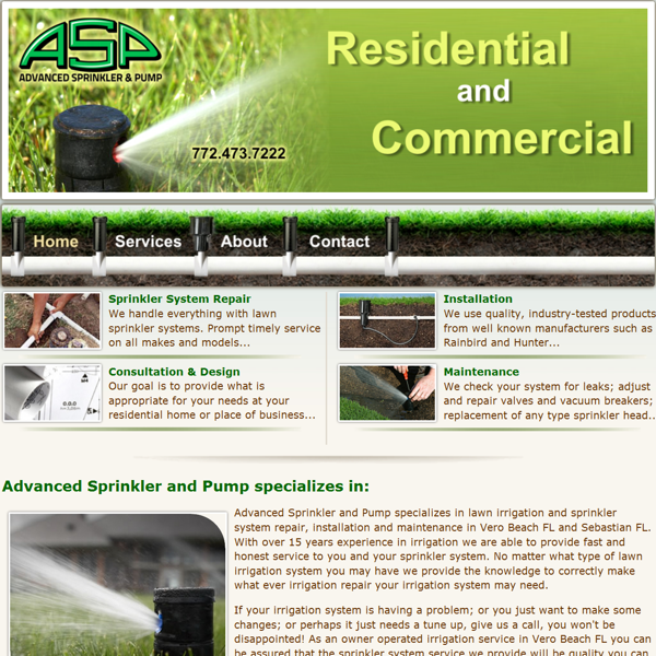 Sprinkler System Repair Service : Sprinkler repair vero beach lawn irrigation system